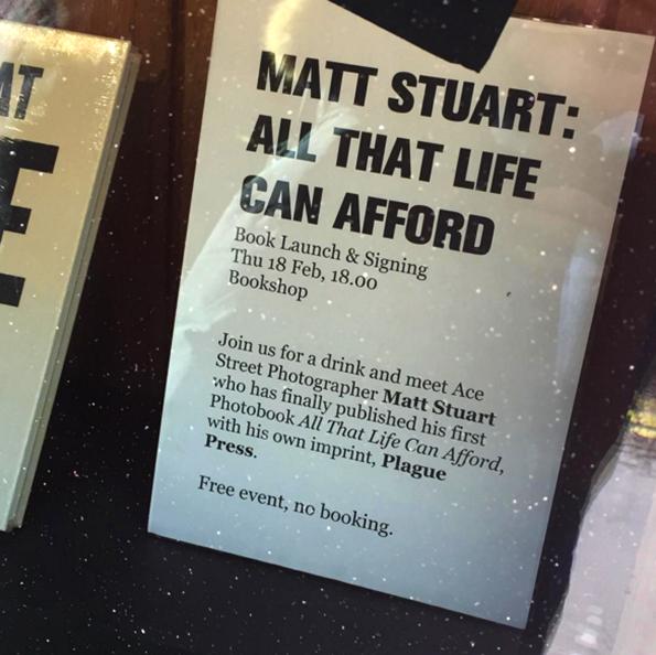 Matt Stuart Plague Press Book Launch