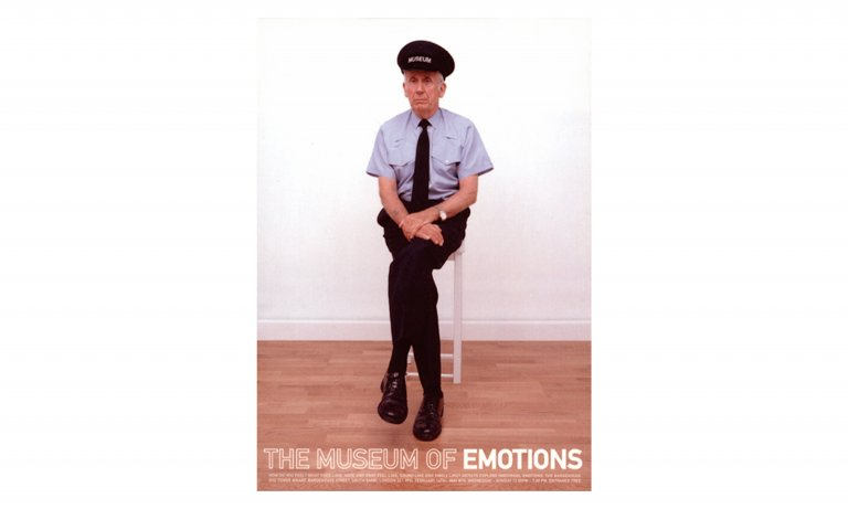 Museum of Emotions poster by Dana Robertson featured in A Smile In The Mind