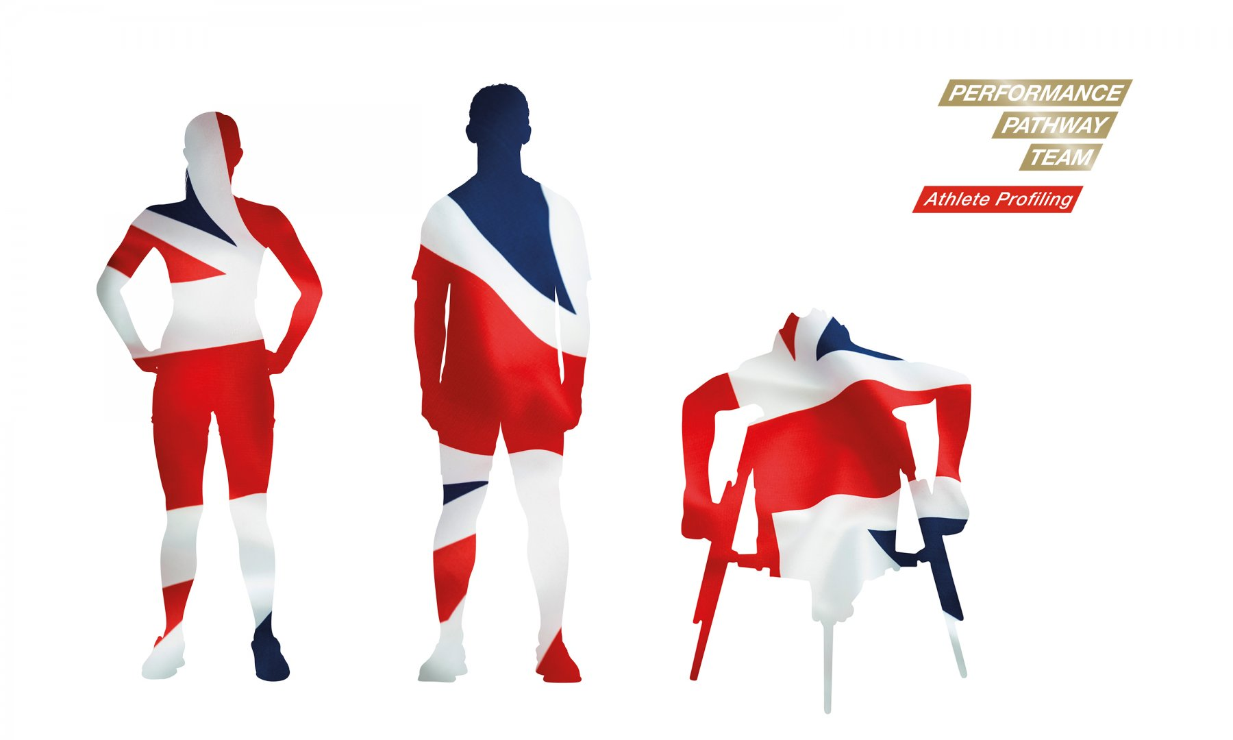 095fe7f50e3dbf UK Sport Pathway Performance Team logo with Project Area descriptor and  iconic athlete silhouettes.