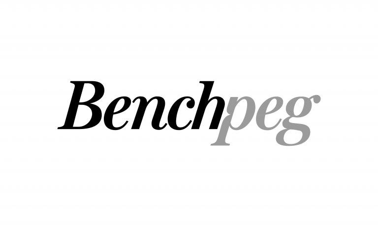 Benchpeg logo by Neon