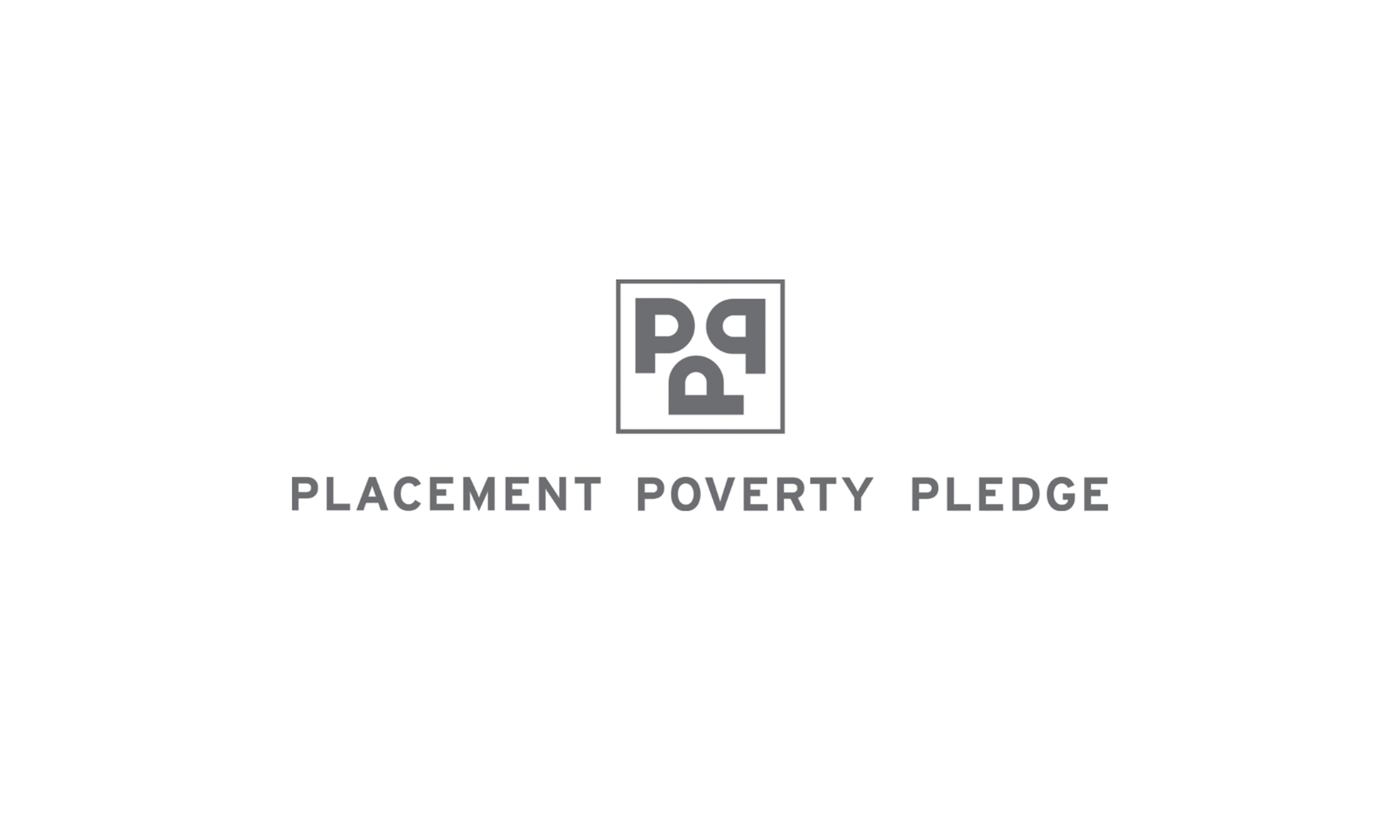 Neon sign-up to placement poverty pledge