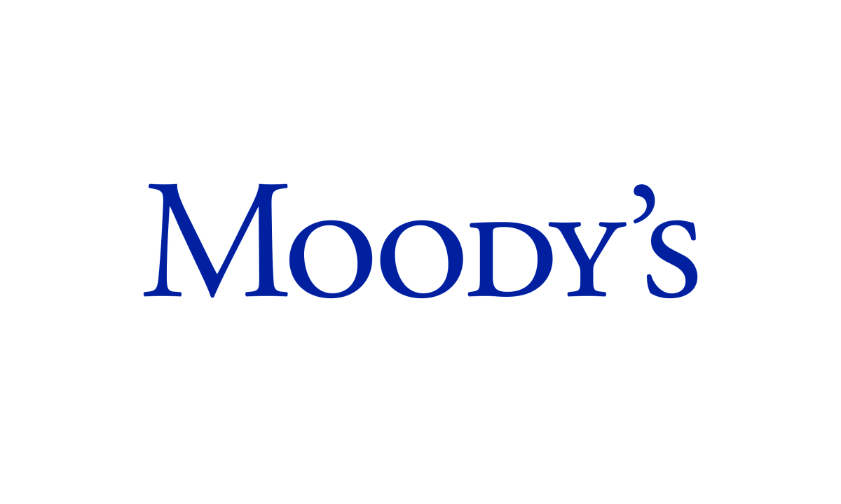 Moody's logo, Neon commissioned by Moody's